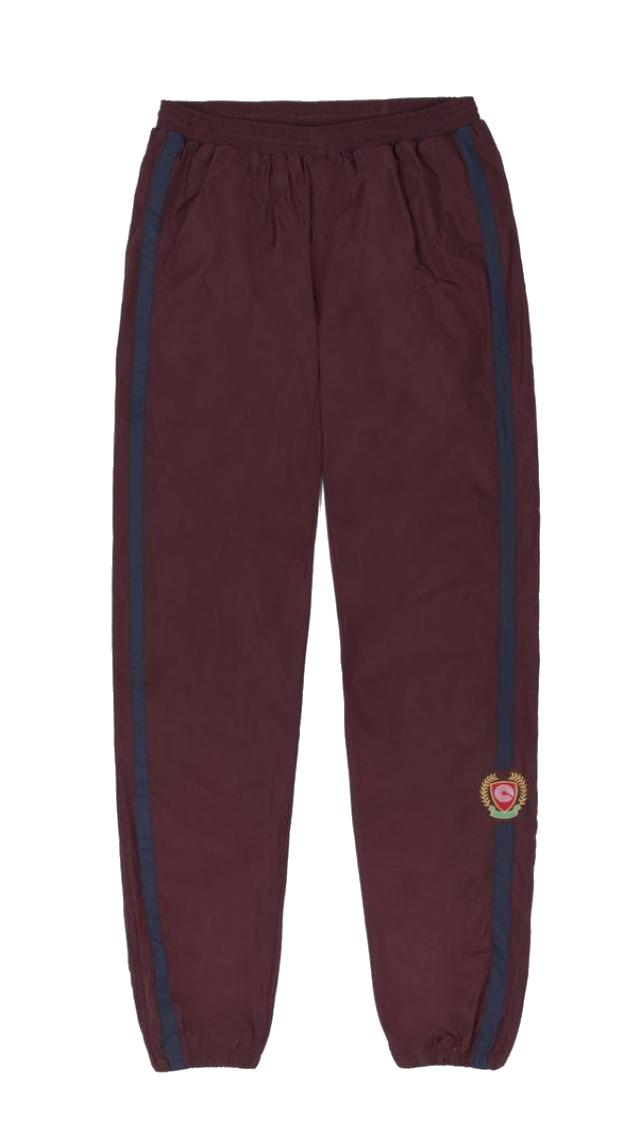 штаны спортивные джоггеры adidas x Yeezy Track Pants Oxblood/Luna