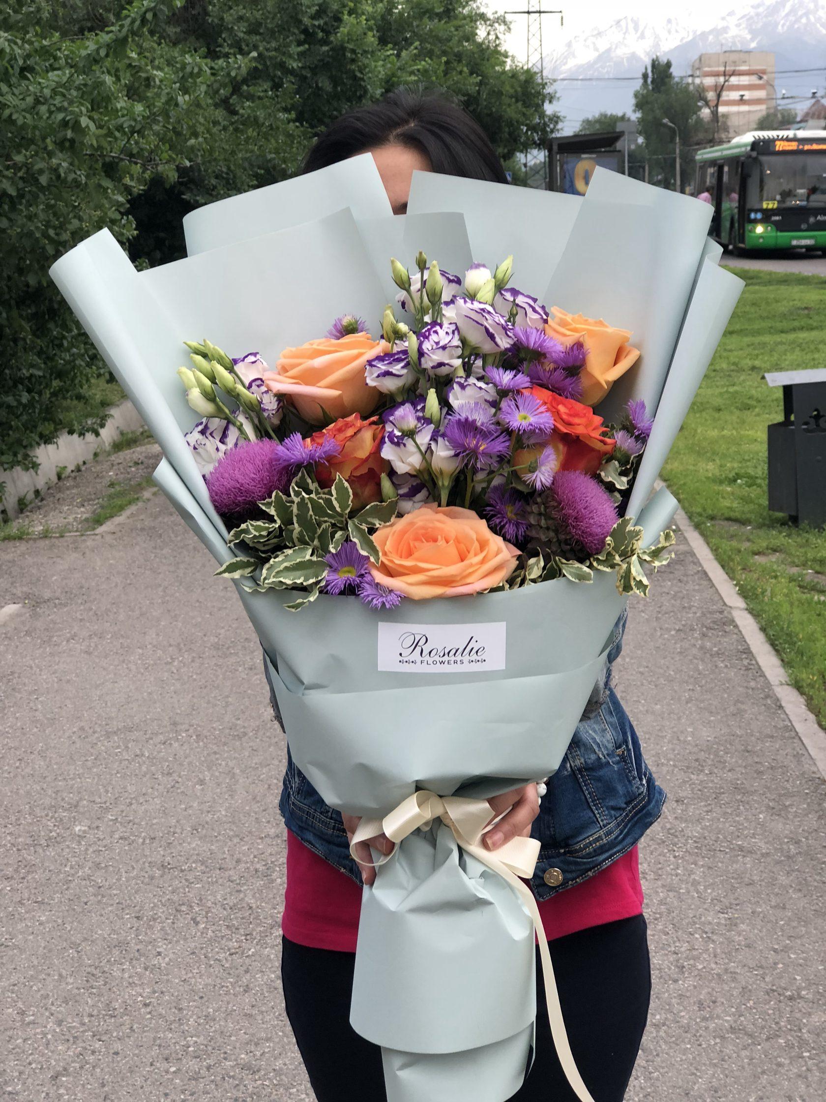 Магазин букеты с доставка алматы, цветы через интернет