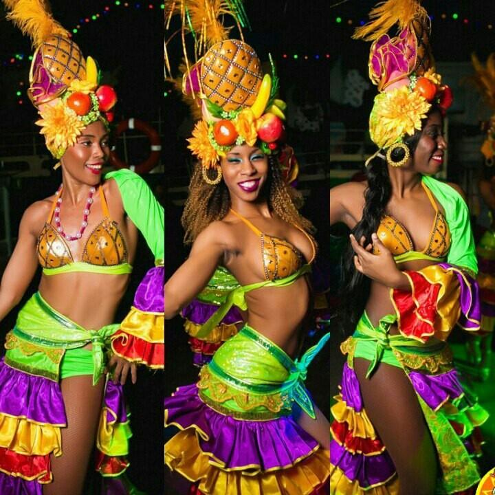 зеленый бразильский костюм для танца фото обычный
