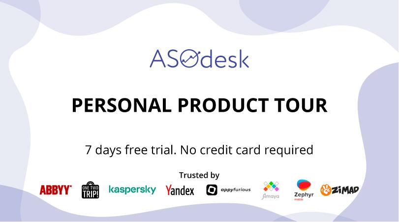 Trial | ASOdesk (App Store Optimization Tools)
