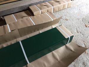 Оцинкованные грядки - Распаковываем комплект