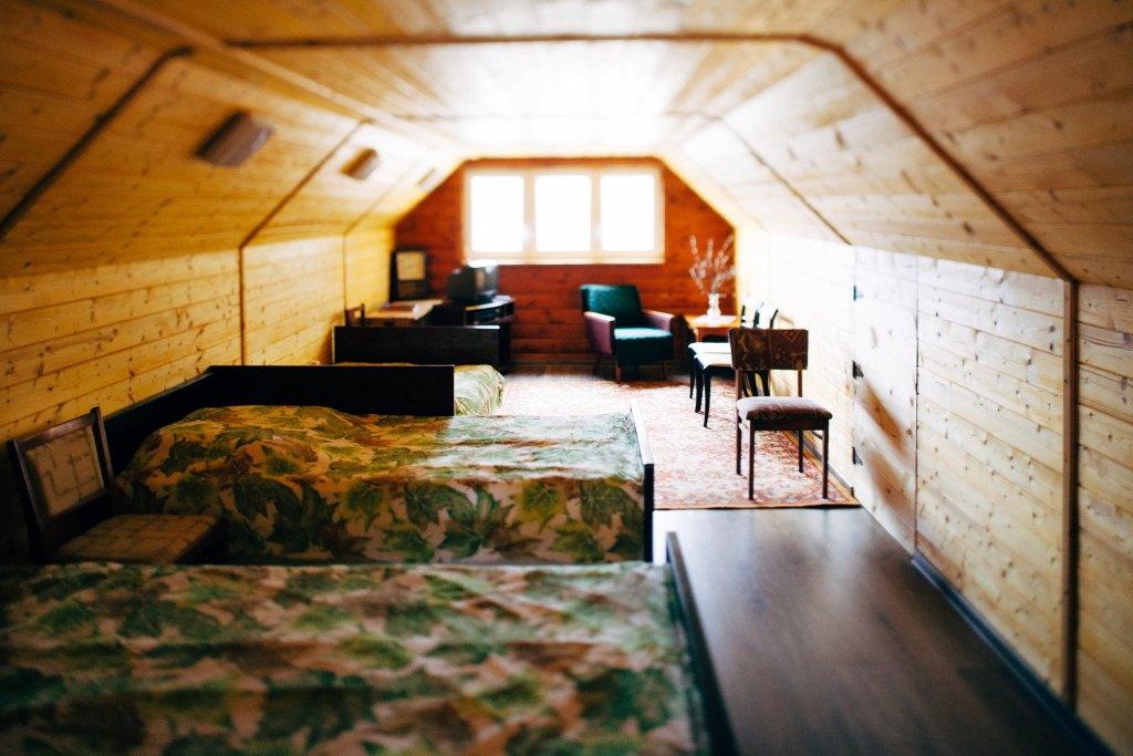 Аренда усадьбы Адамантъ в Беларуси, мансарда, спальные места