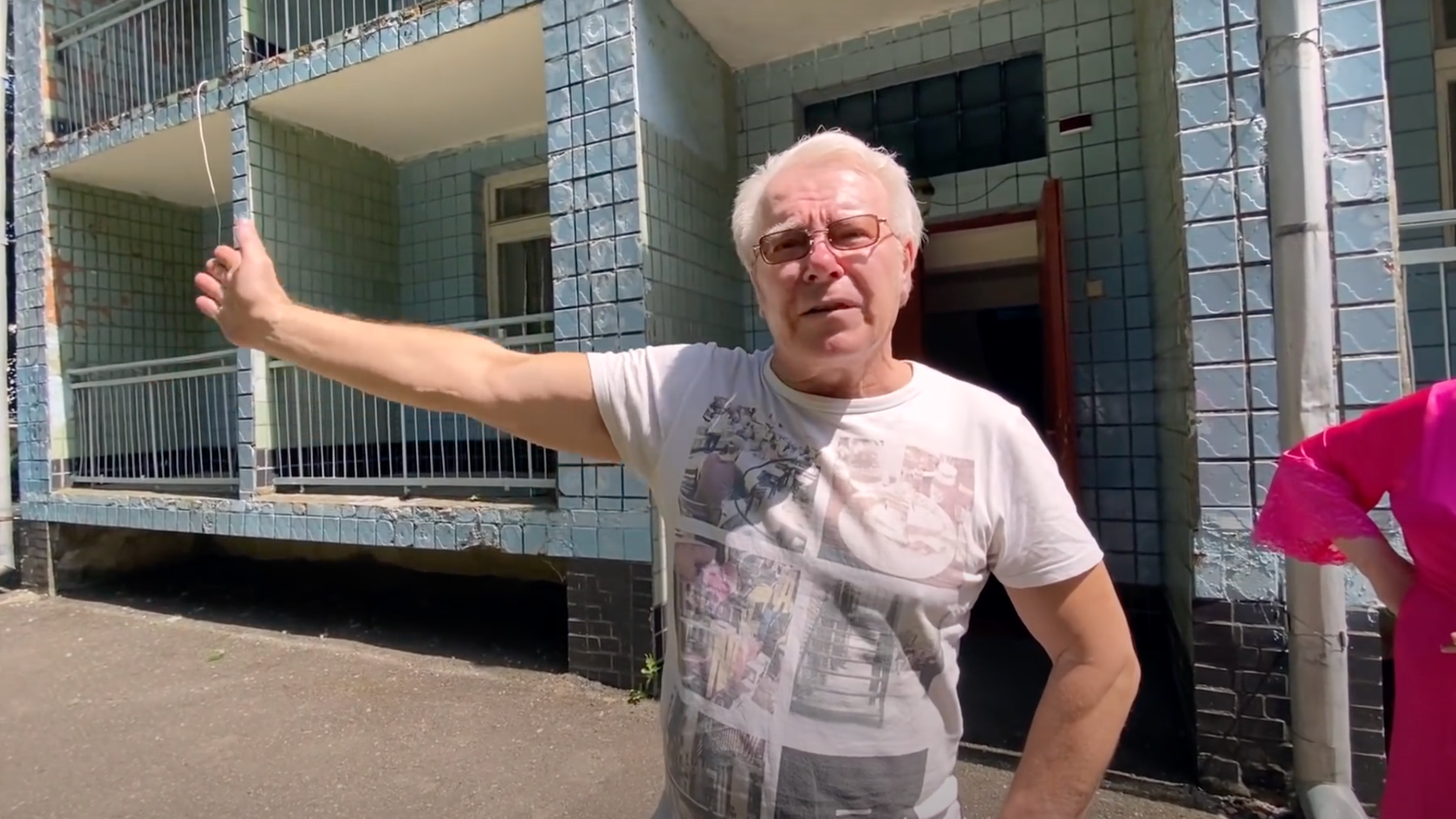 Разрушенный дом на улице Ясной, 10