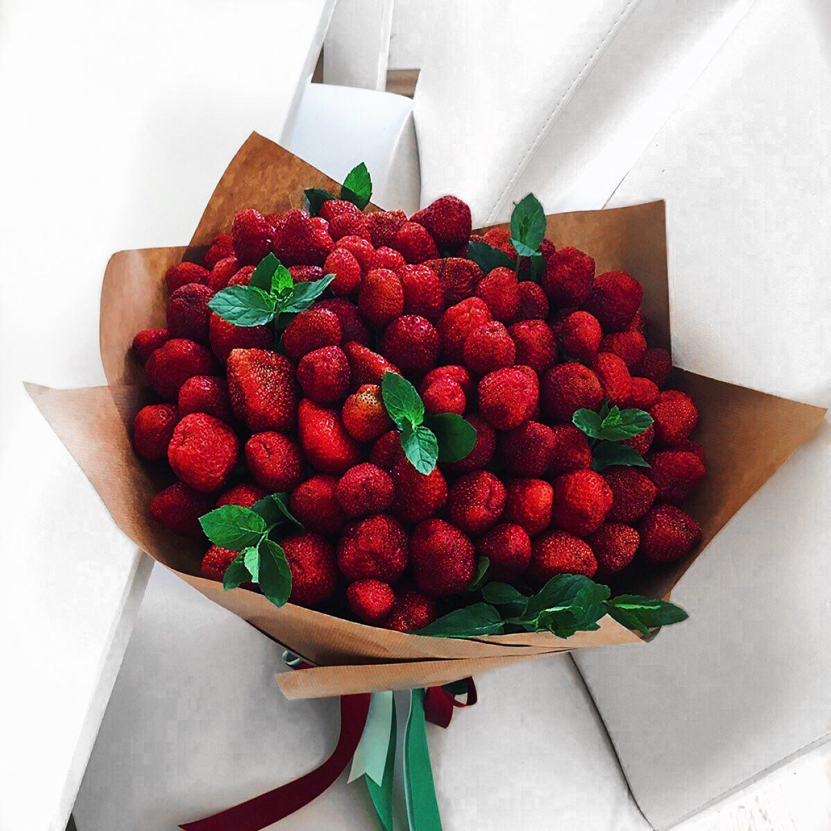 Открытка с ягодами своими руками