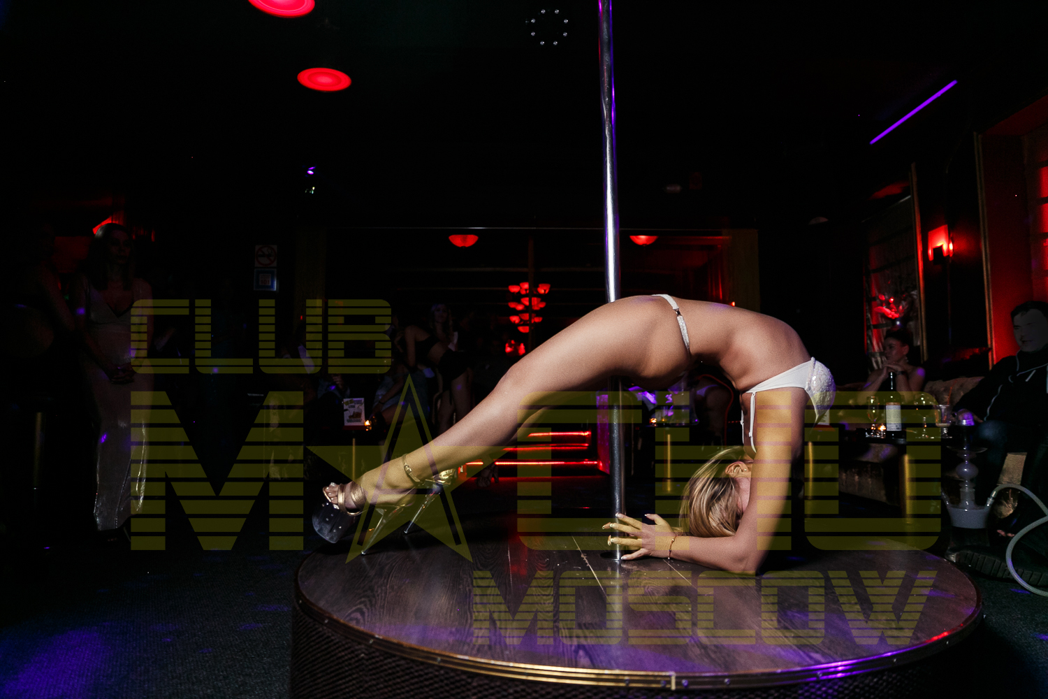 Bartending job at strip club 12