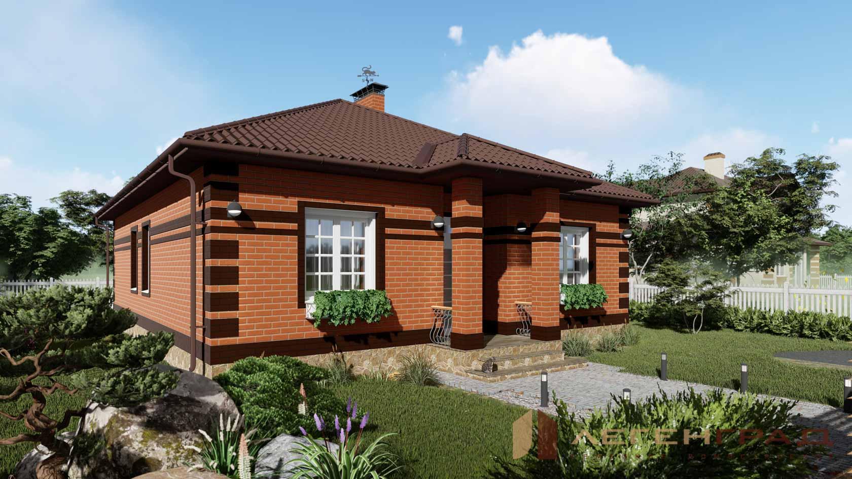 одноэтажные дома фото реальных домов любителей красивых фото