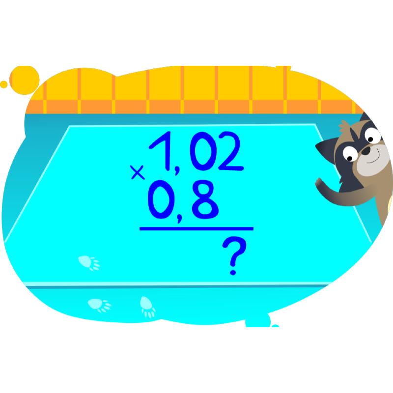 Решение задач на числа с енотом
