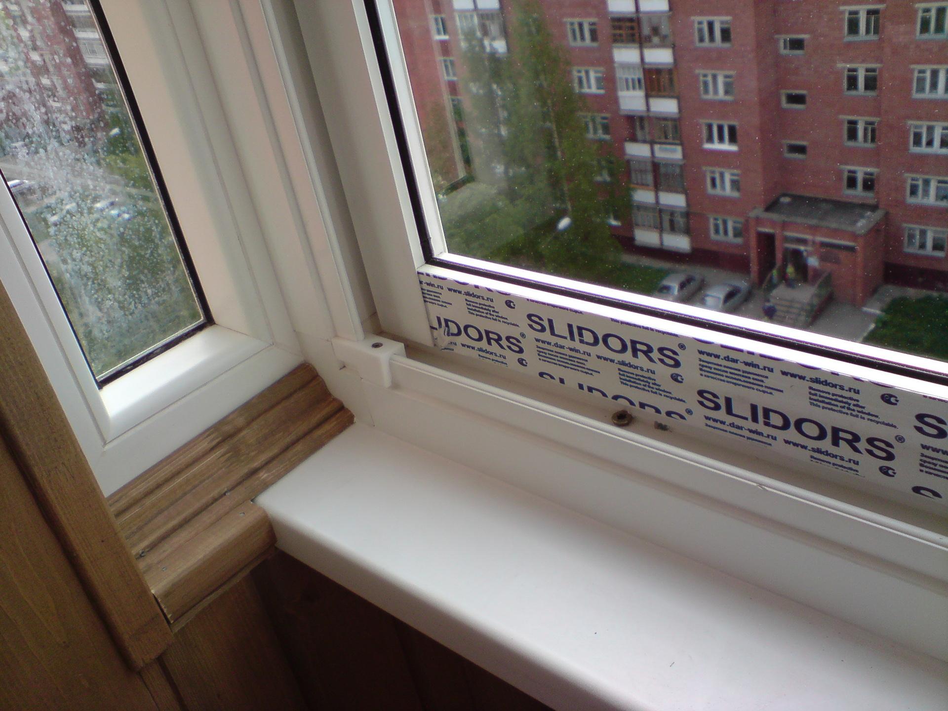 Остекление балконов и лоджий раздвижной системой окон slidor.