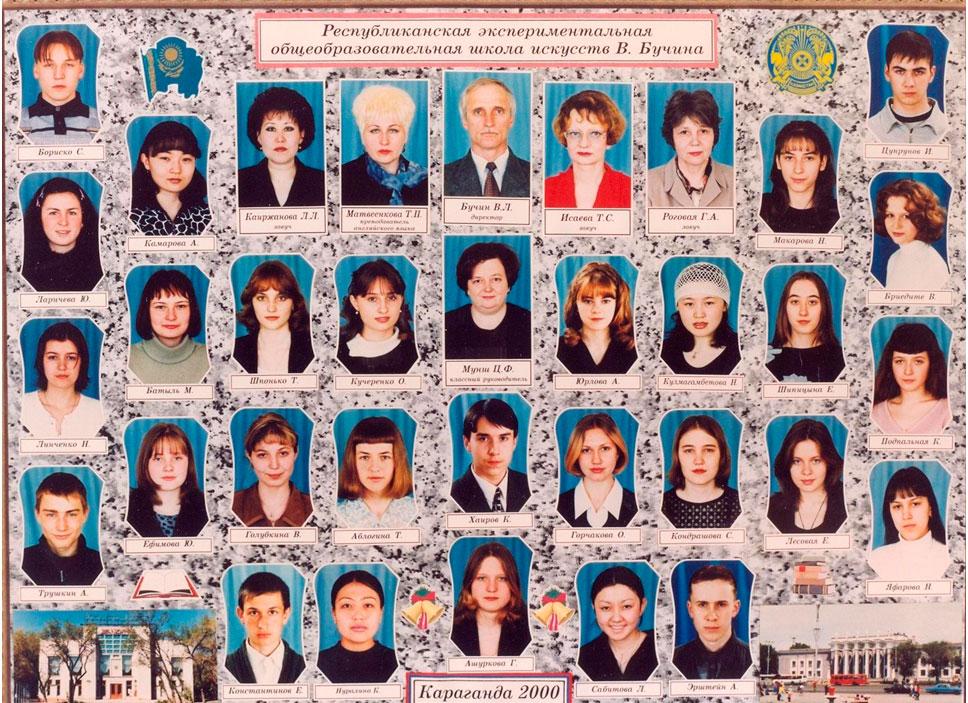 11 КЛАСС 2000 г.  Кл. рук. Мунш Ц.Ф.