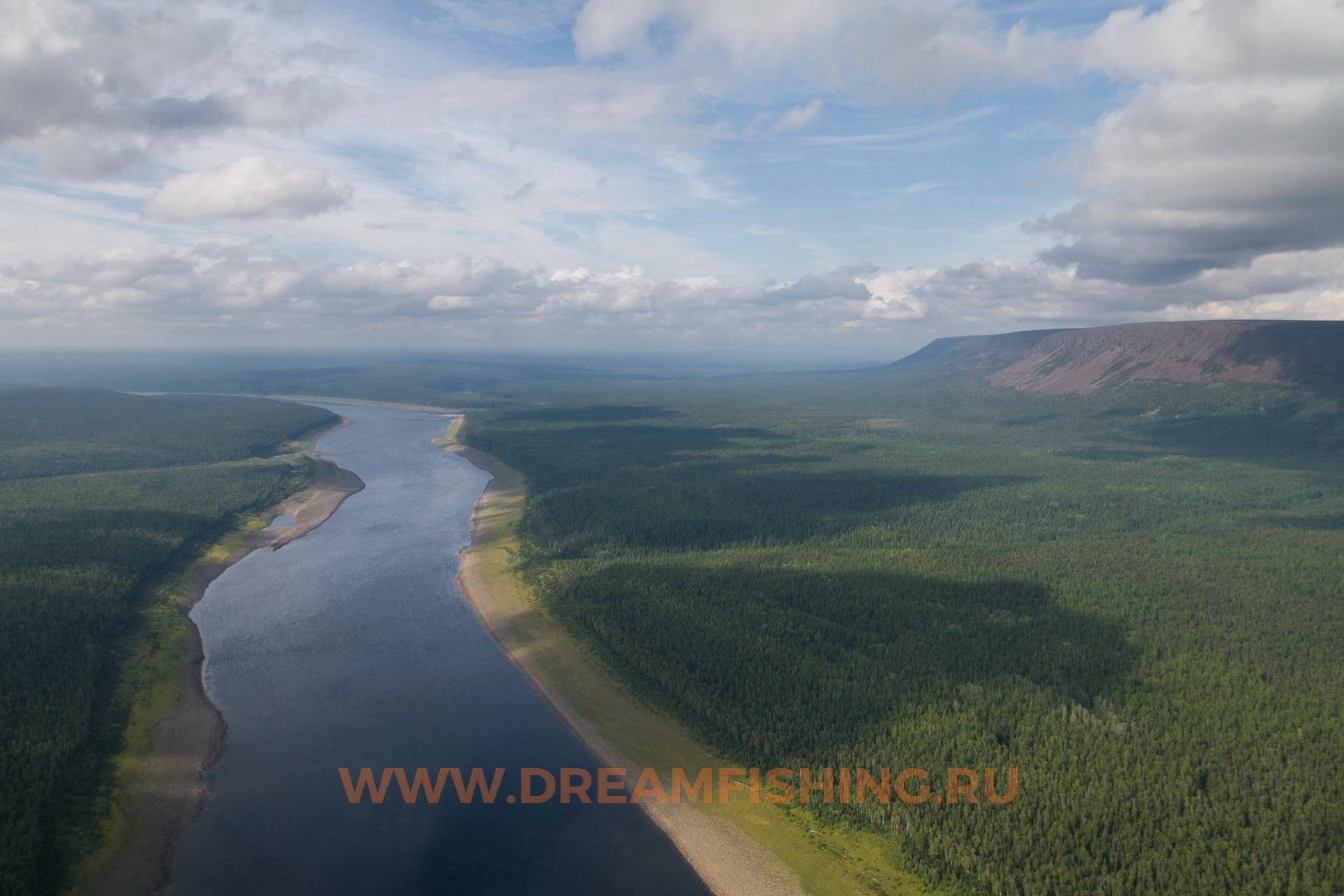 Нижняя Тунгуска в районе реки Северная