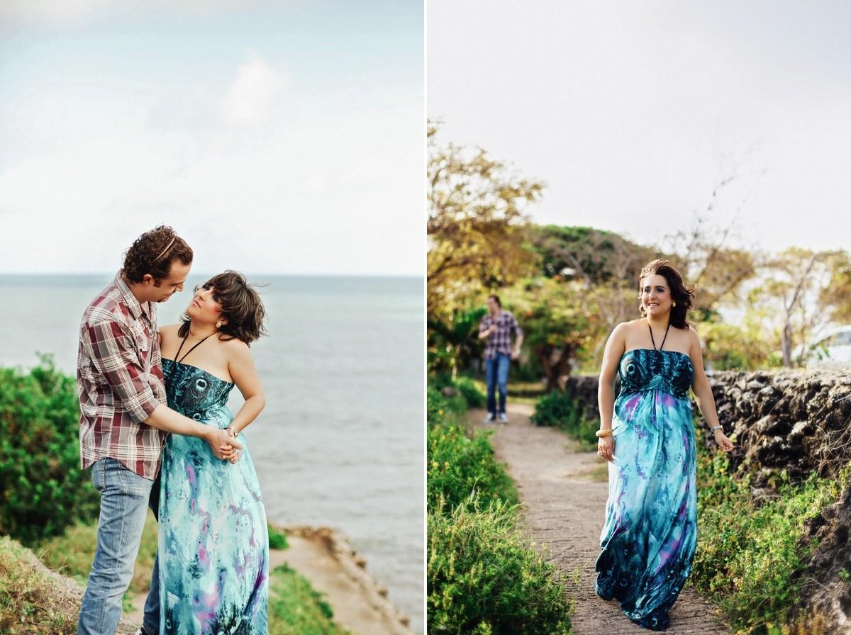 Nyali Beach Couple Anniversary Portraits