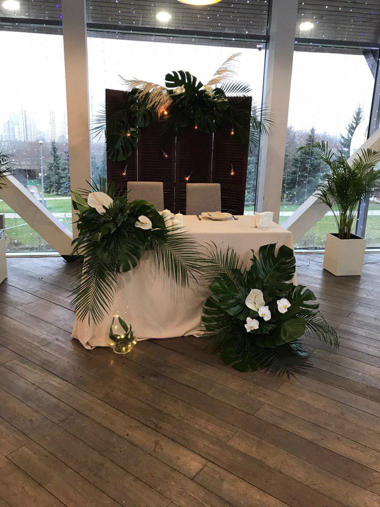 Оформление свадьбы в тропическом стиле. Фото 6