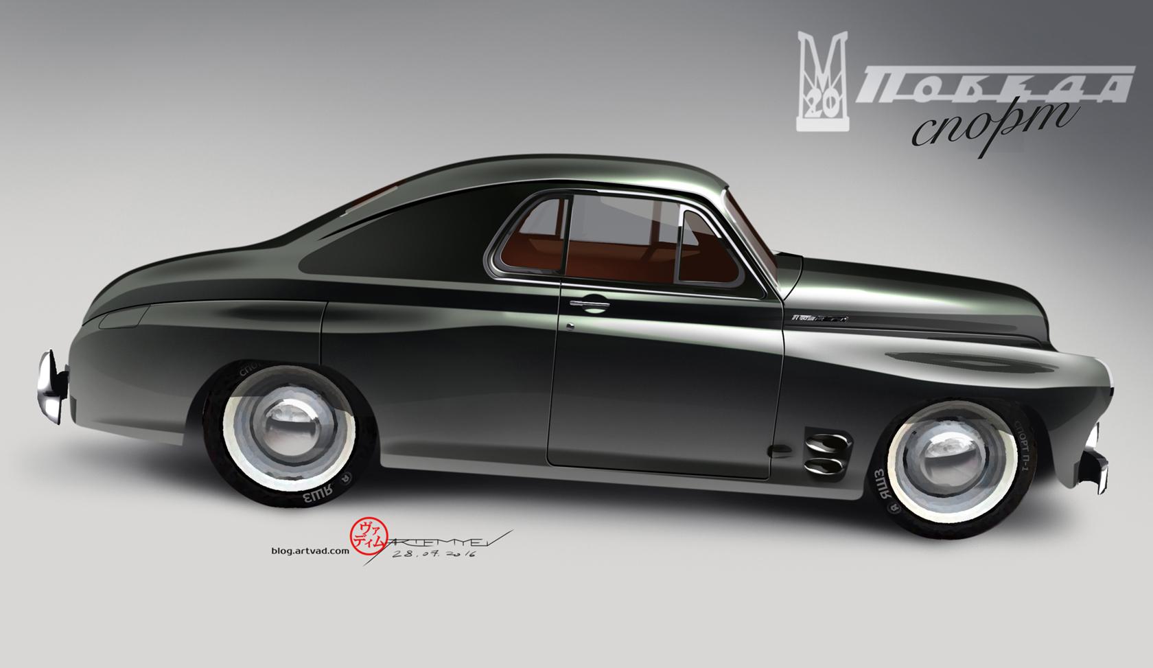 """GAZ M20 """"Pobeda"""" custom Sport"""