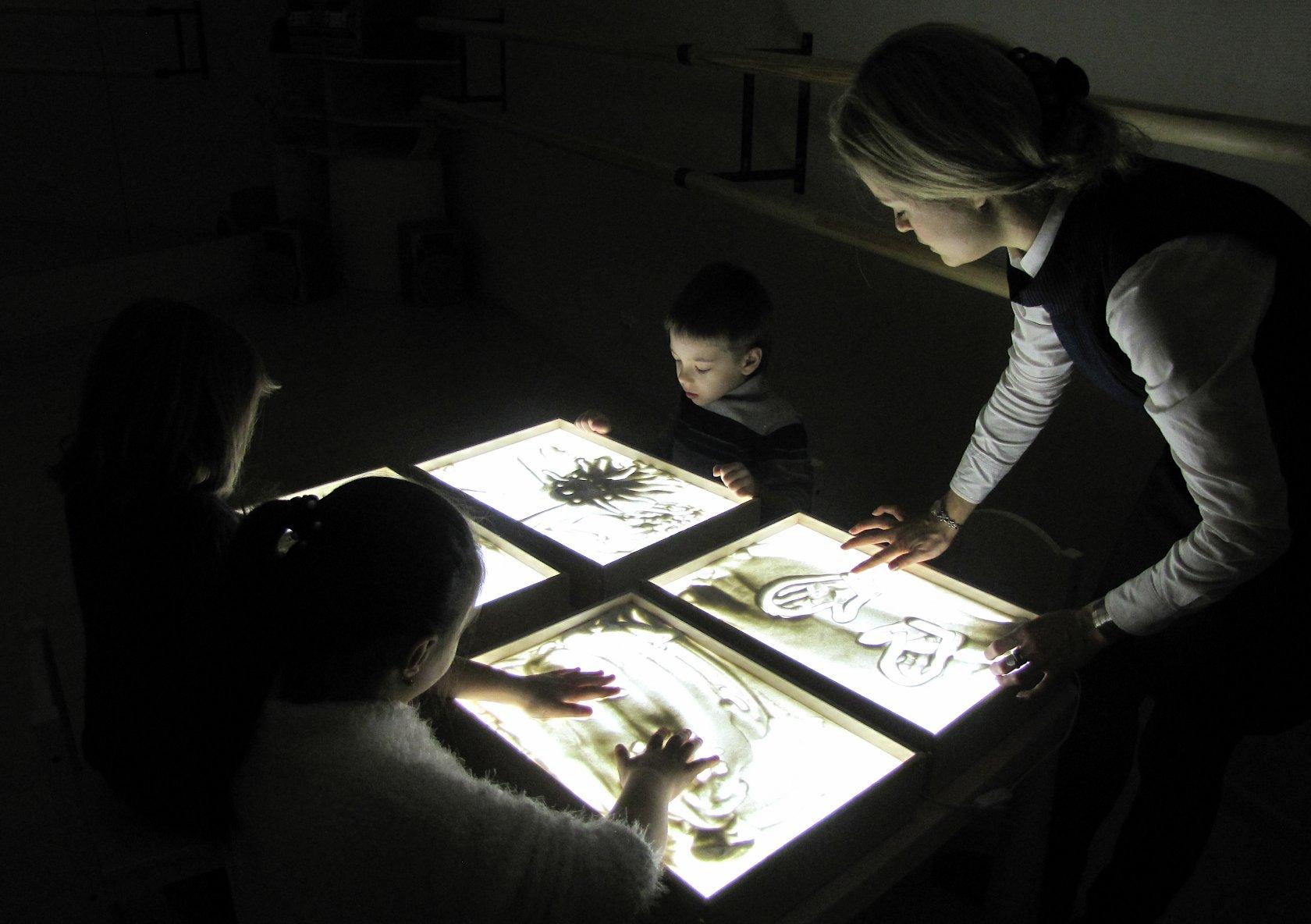 Рисование песком Тропарево Коммунарка мастер-класс