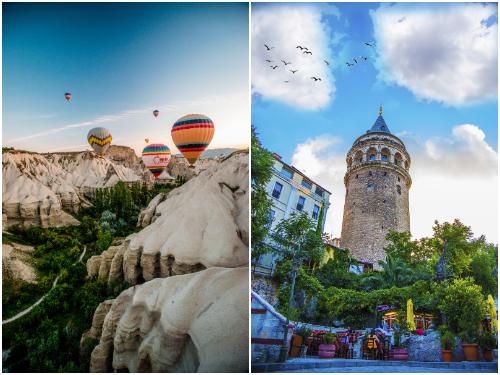 Стамбул и Каппадокия в апреле