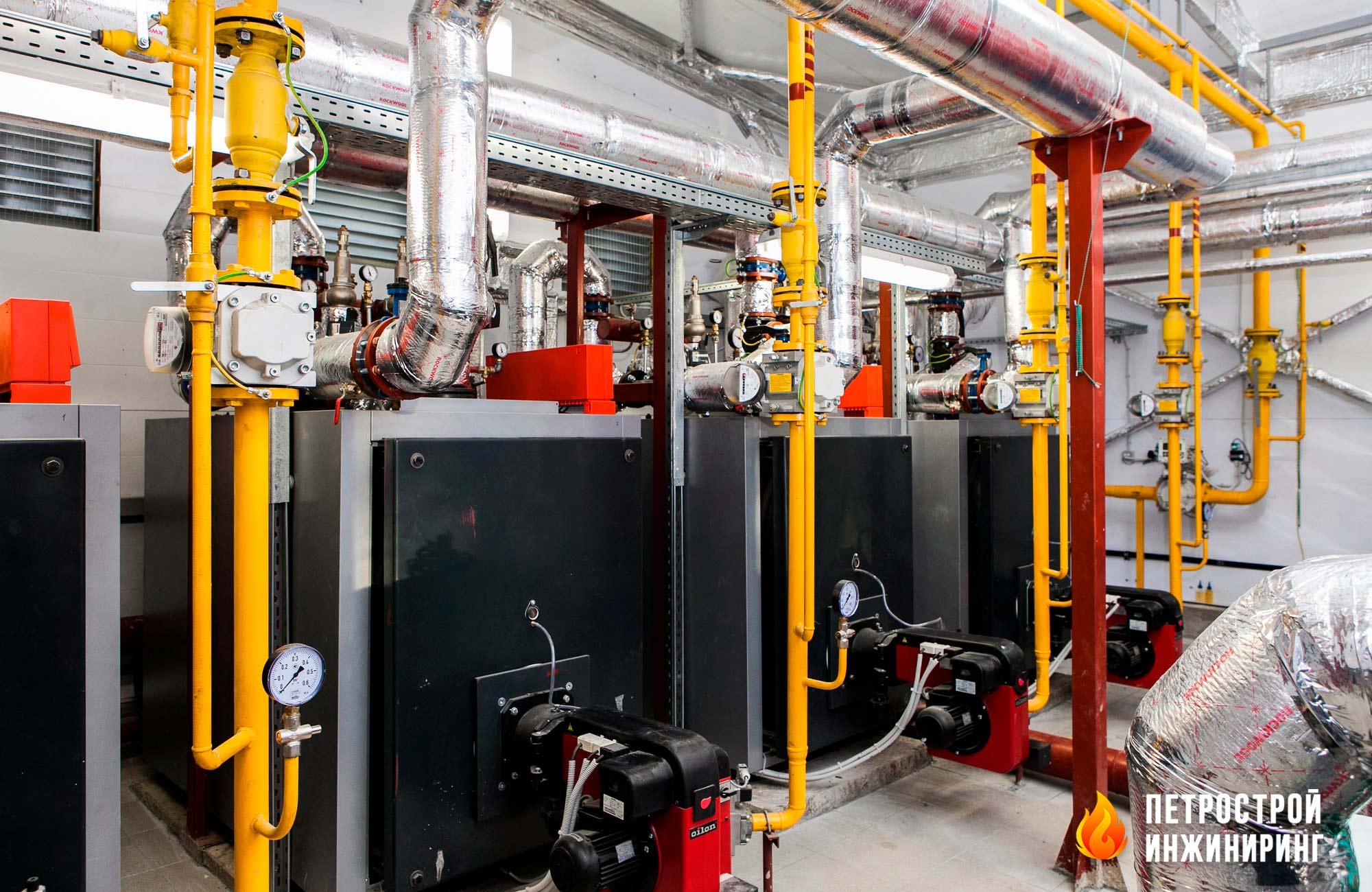 Газовая котельная на 2.2 МВт
