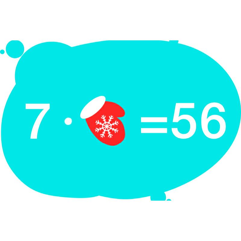 Таблица умножения на 7 с примерами