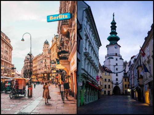 Вена и Братислава в октябре