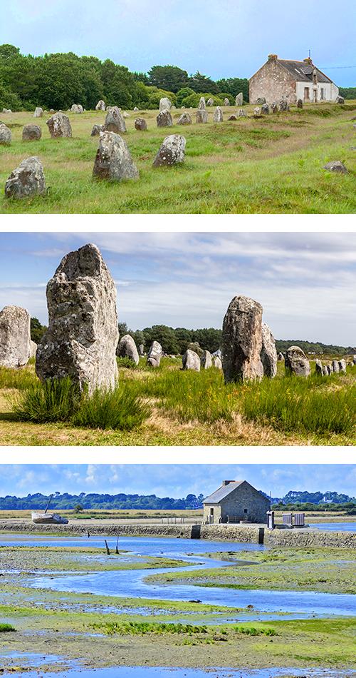 Мегалиты в долине Карнакских камней поражают воображение