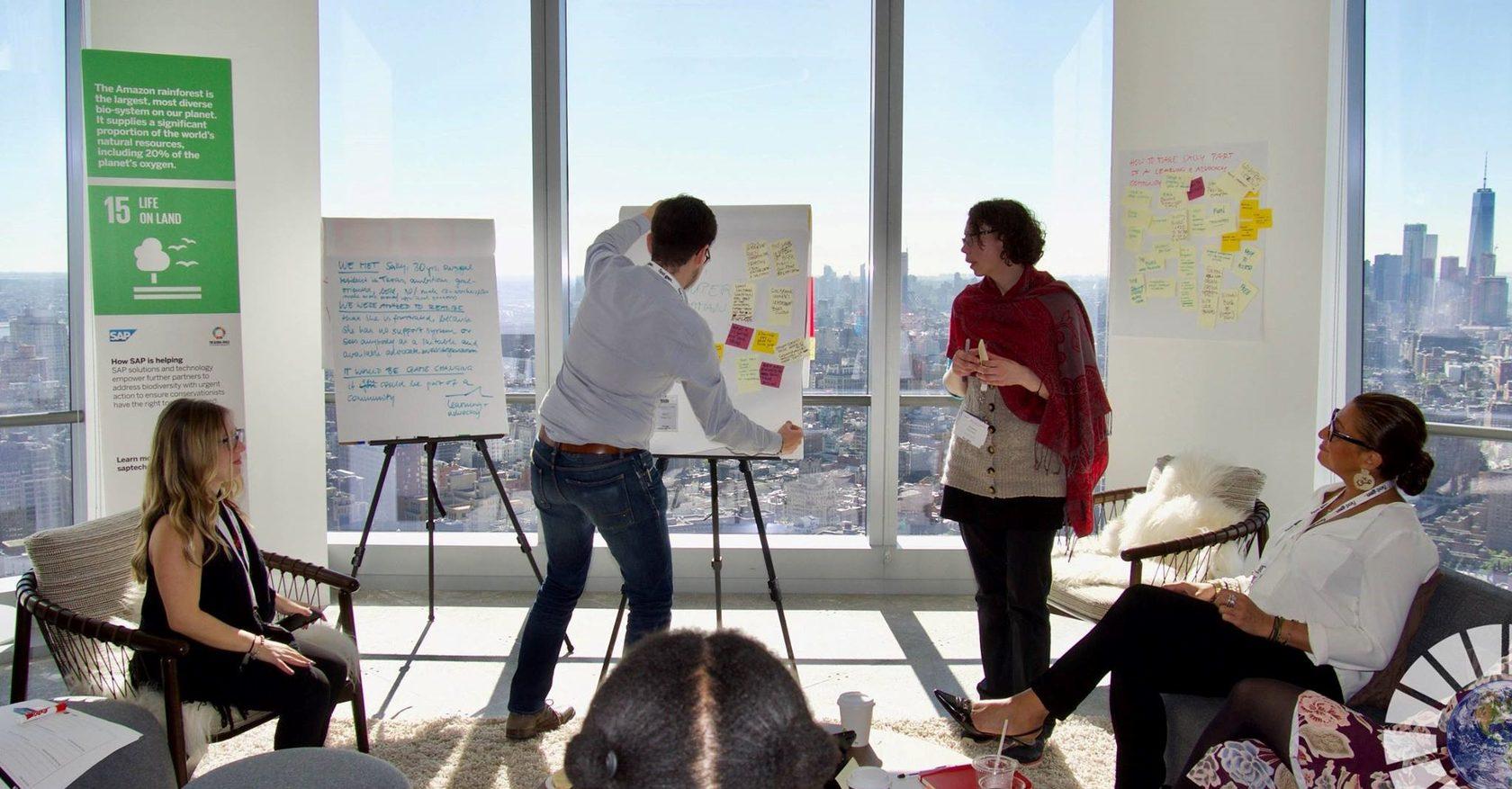 Innovation Space - SAP Next-Gen in New York