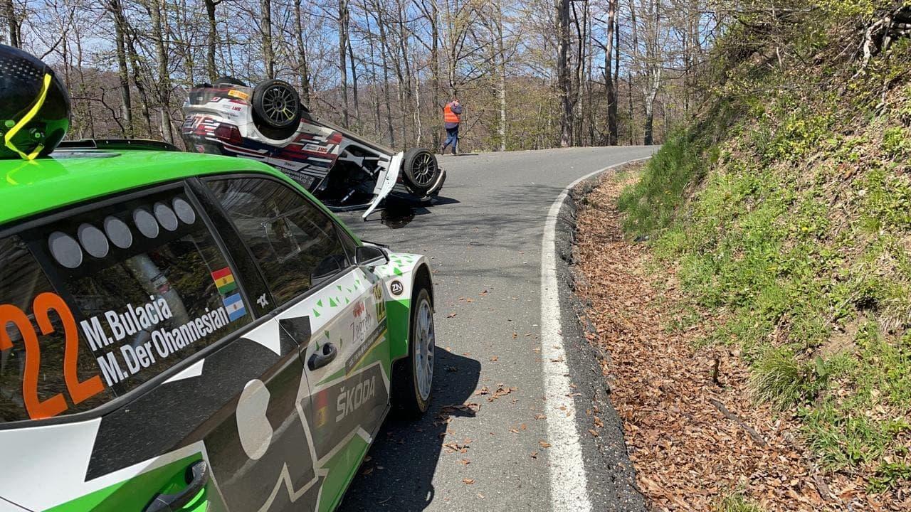 VW Polo GTI R5 Николая Грязина после аварии