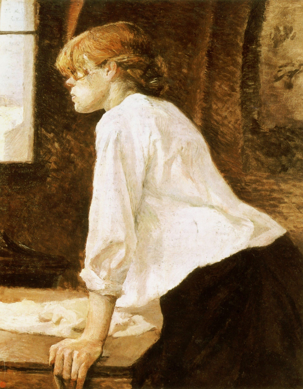 Картина Анри де Тулуз-Лотрека «Прачка», 1887 год