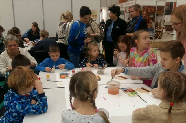 Мастер-классы на выставке православная русь
