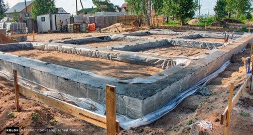 Фундамент из керамзитобетона пропорции купить бетон во владимирской