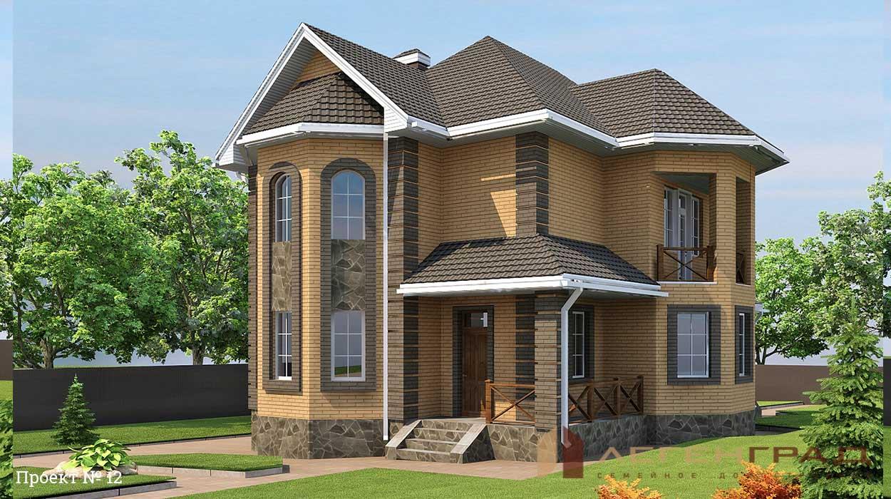 двухэтажные кирпичные дома фотогалерея для