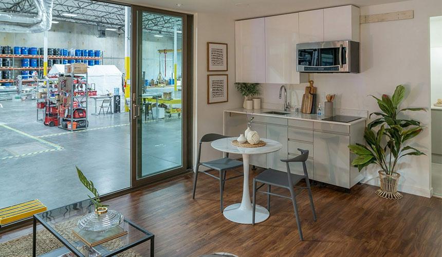 MIGHTY STUDIO interior oakland facility
