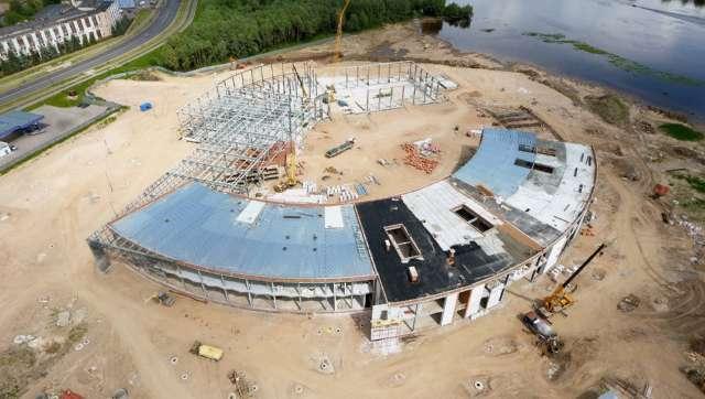 Андрей Никитин: «Общая строительная готовность НТШ на данный момент более 35%»