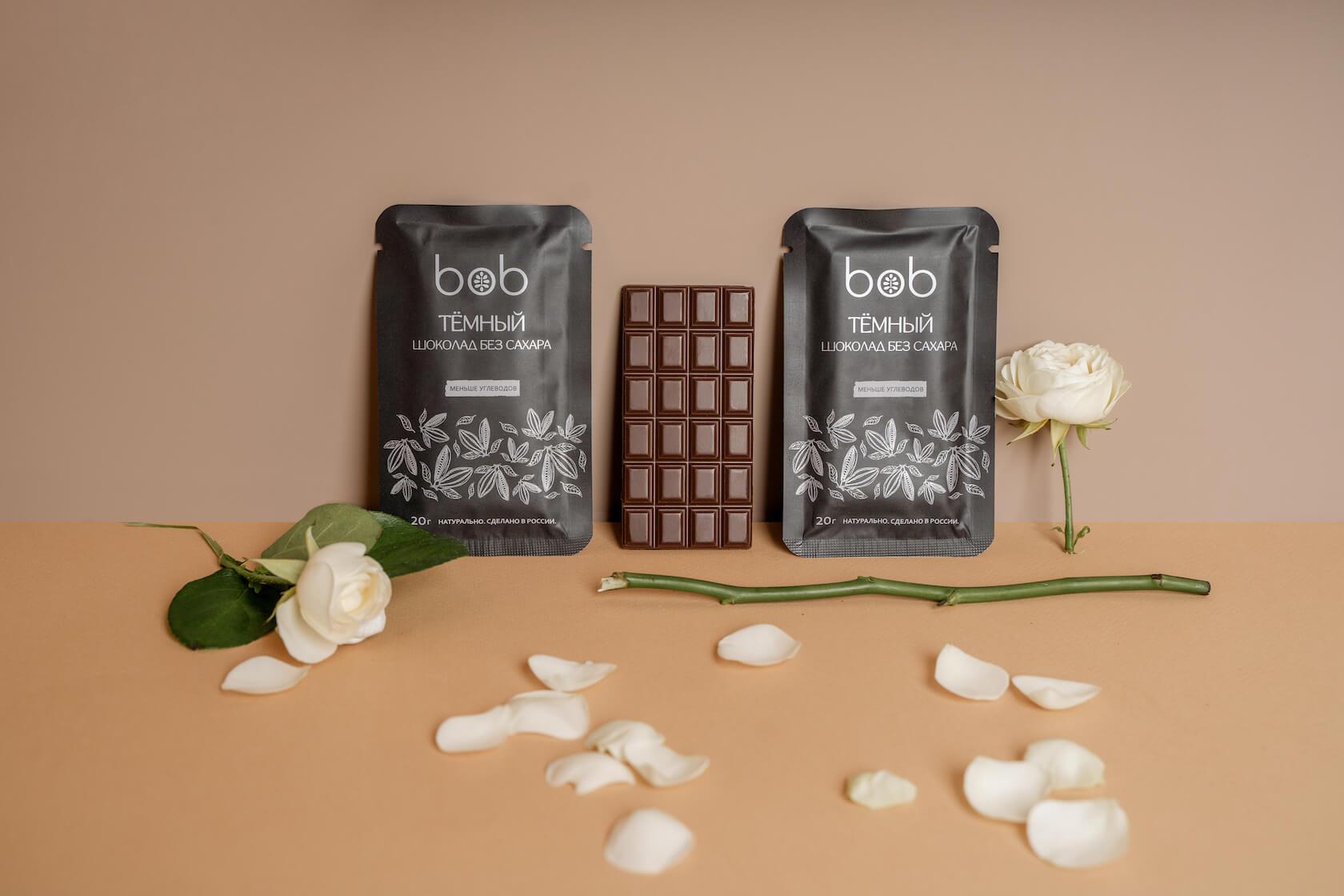 полезный шоколад bob