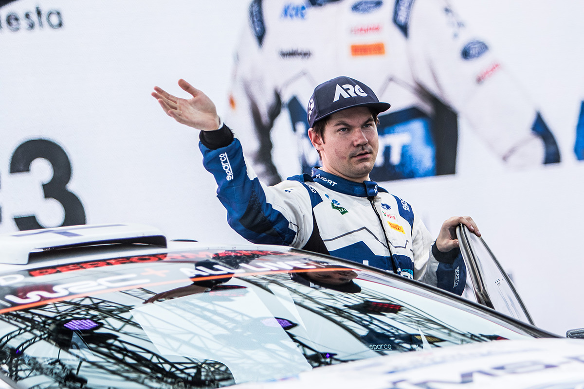 Теему Сунинен, Ford Fiesta WRC, ралли Эстония 2021