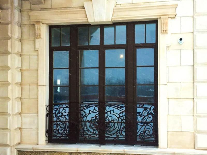 Перила для французского балкона