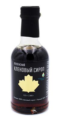 Сироп кленовый ПЕНЗЕНСКИЙ, стекло 260г