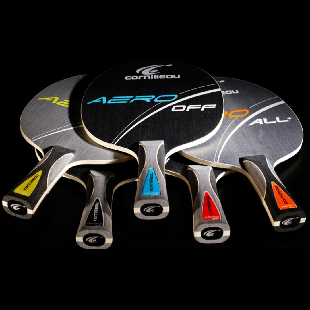 Линейка оснований ракеток для настольного тенниса Cornilleau Aero