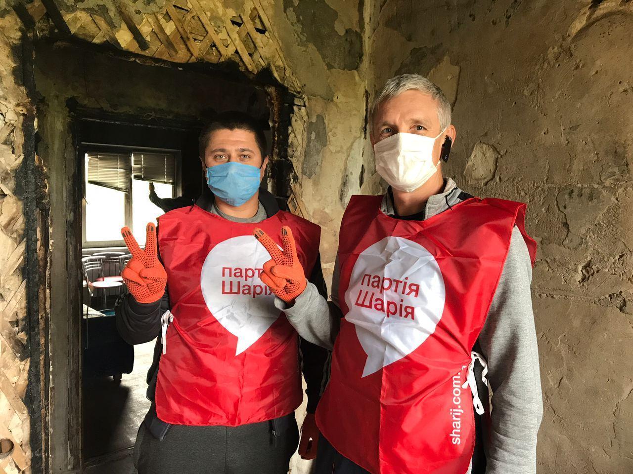 Активисты Партии Шария отвезли гуманитарную помощь в Рубежное