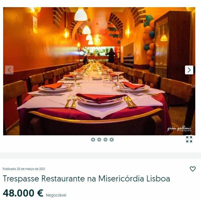 купить ресторан в португалии