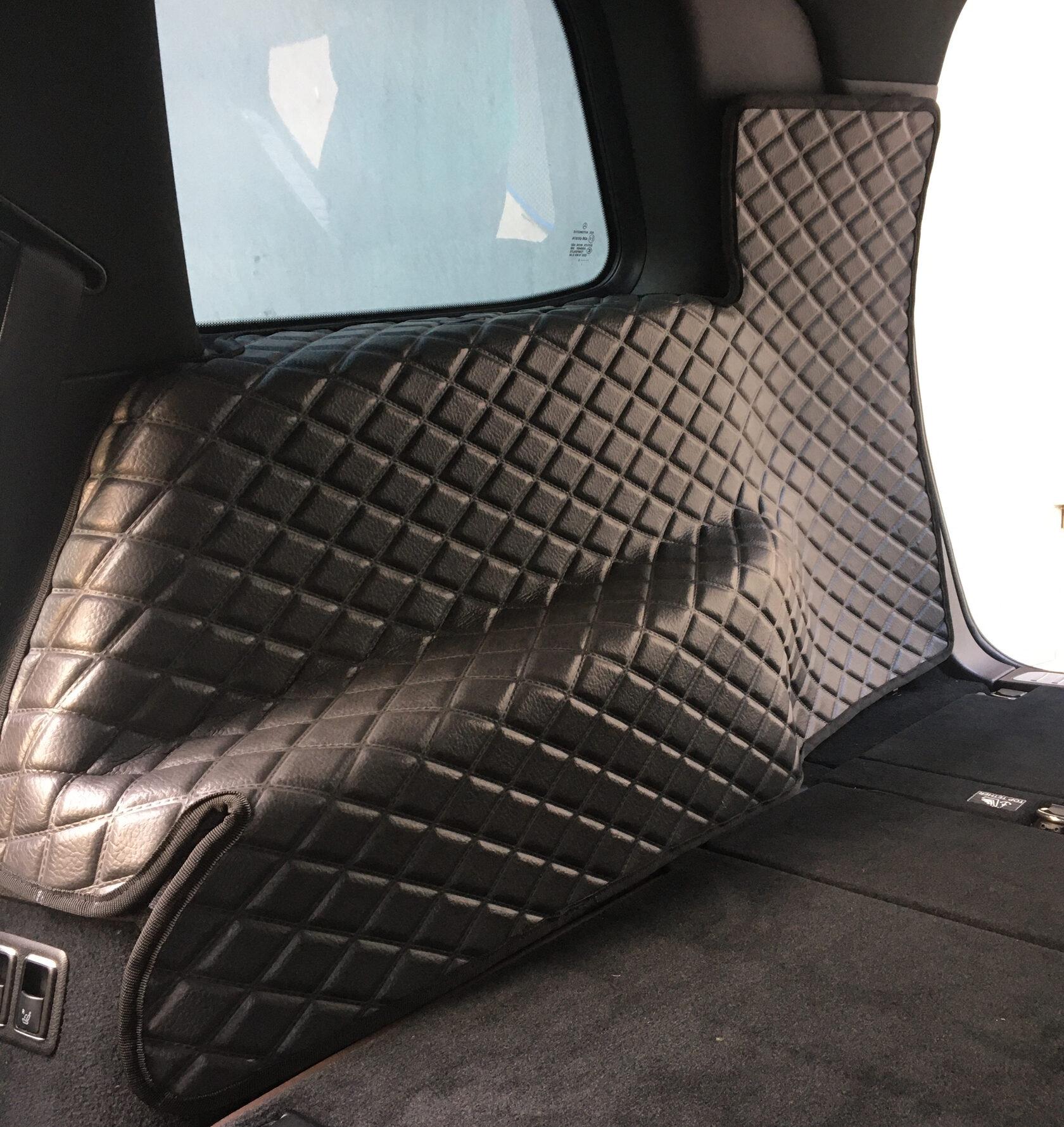 Защитные накидки на пластик автомобиля из ЕВА материала (текстура кожа)
