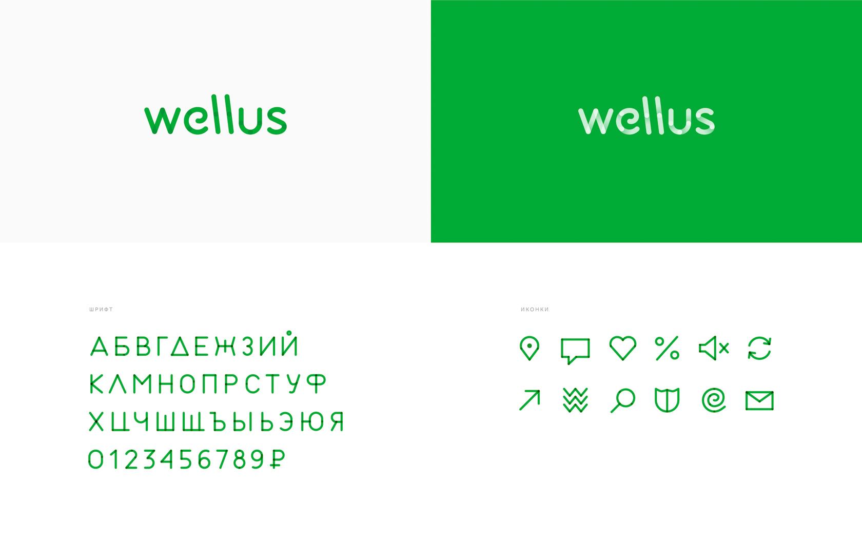 Фирменные цвета, типографика, иконки