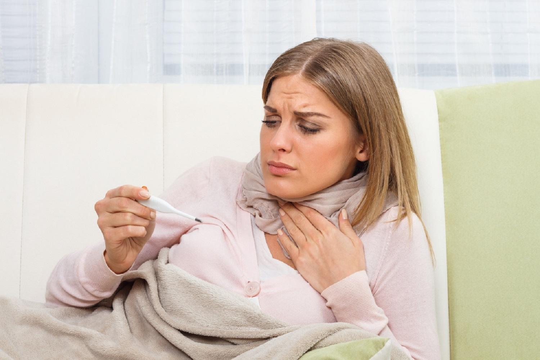 боль в горле и температура 38-39