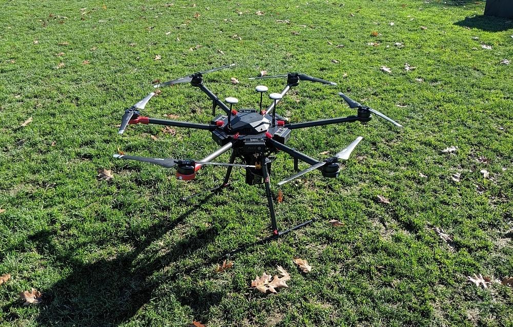 Gas Leak Detection Drone