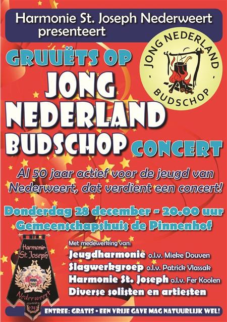 Gruuëts op Jong Nederland Budschop poster
