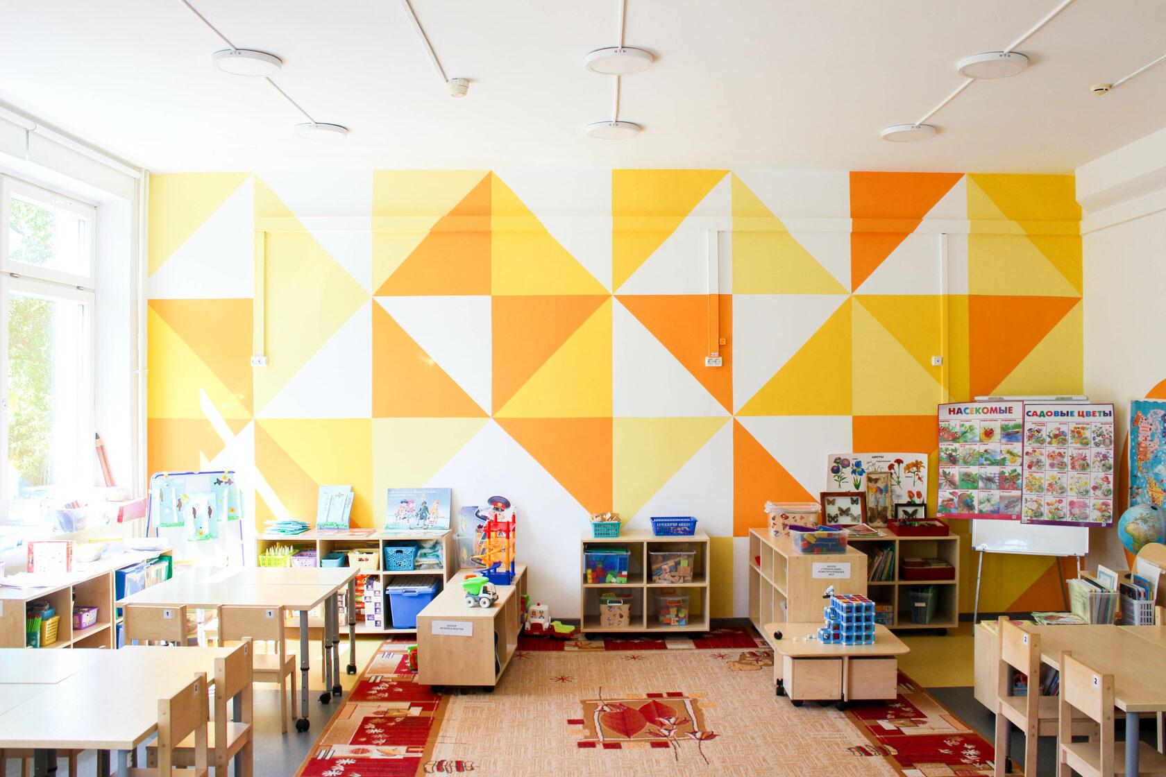 дизайн комнаты детского сада
