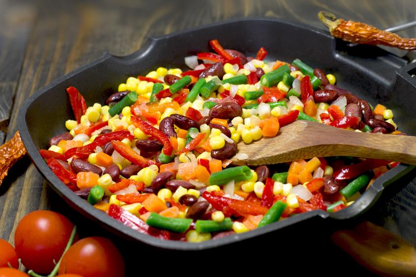Мексиканска салата с червен боб Krina