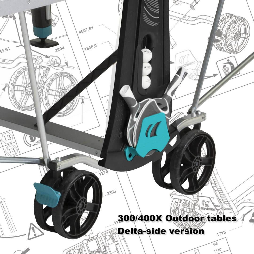 300X/400X Sport Outdoor Delta-side version