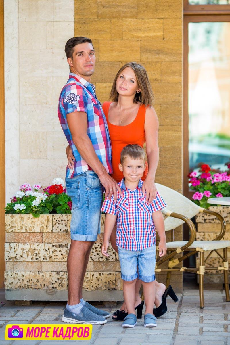 Семейная фотосессия в Евпатории в Крыму фотограф