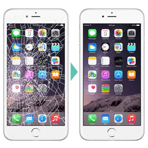замена экрана iphone в алматы