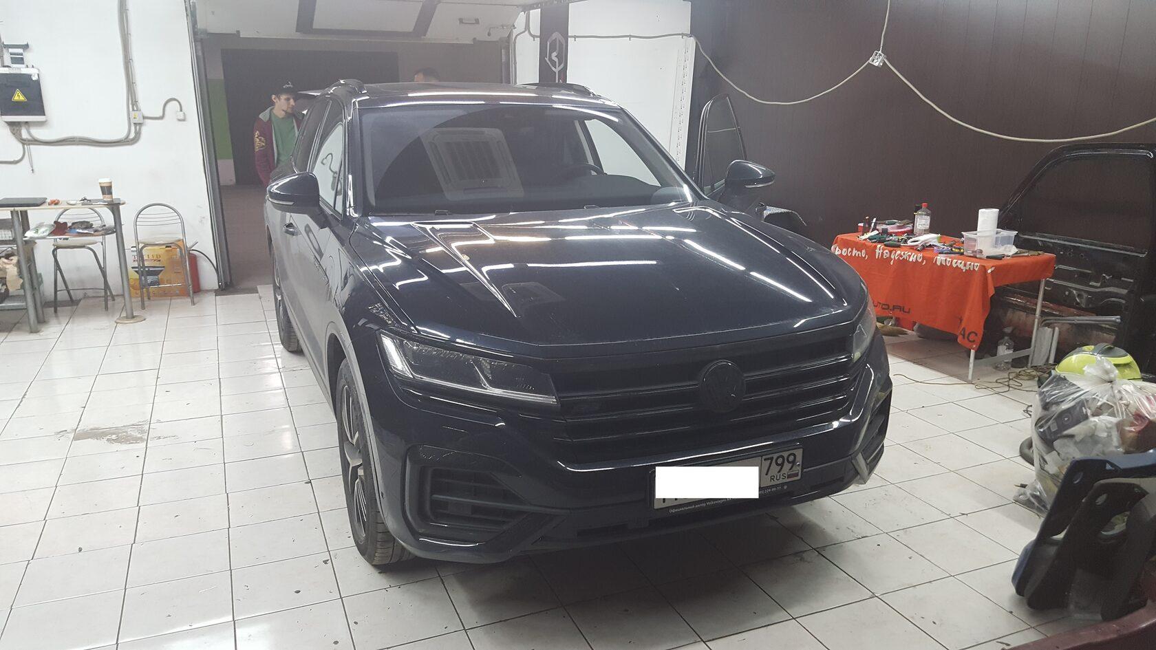автозвук VW Tuareg 3