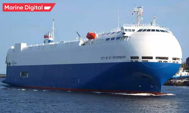 Vehicle transport ship